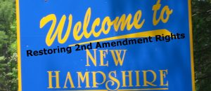 New Hampshire on Verge of Abolishing Permits for Concealed Carry Weapons
